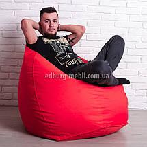 Кресло мешок груша Большой   красный Oxford , фото 2