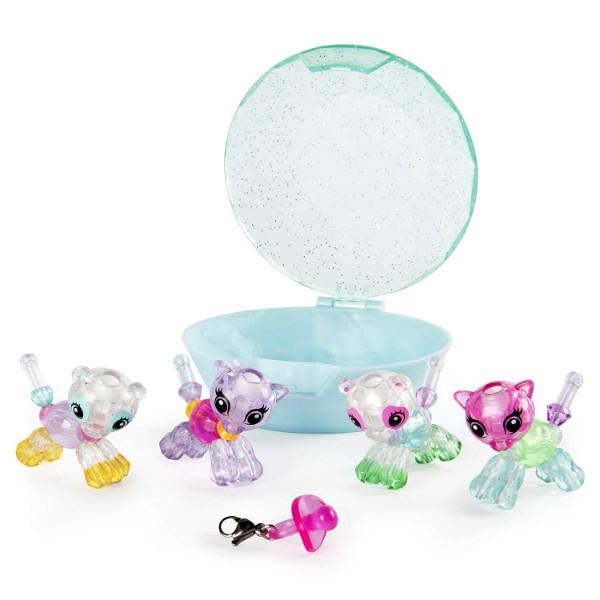 Twisty Petz Набор 4 браслета-минипитомца Пандочки и Котята Babies 4-Pack Pandas and Kitties