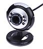 USB веб камера с микрофоном и подсветкой #100016