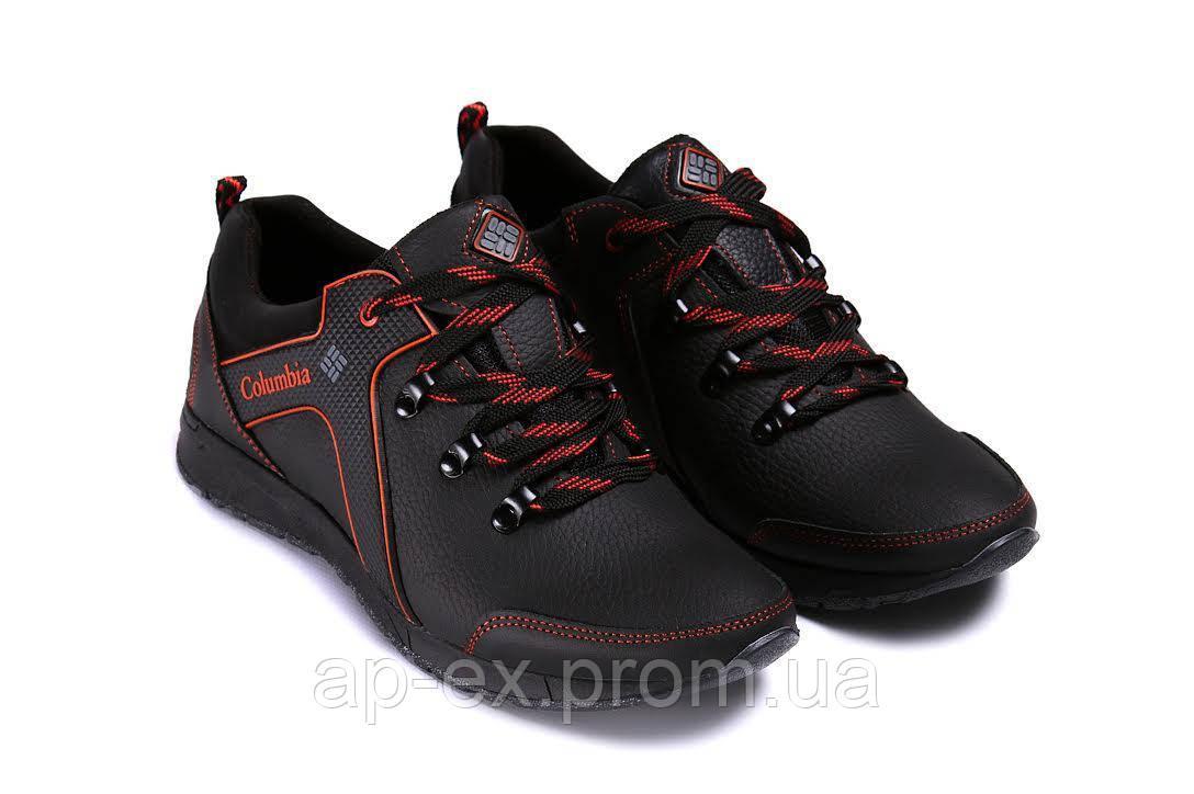 5a4ede3db416ca Мужские кожаные кроссовки Columbia Stage 1 red - АПЕКС-интернет-магазин в  Днепре