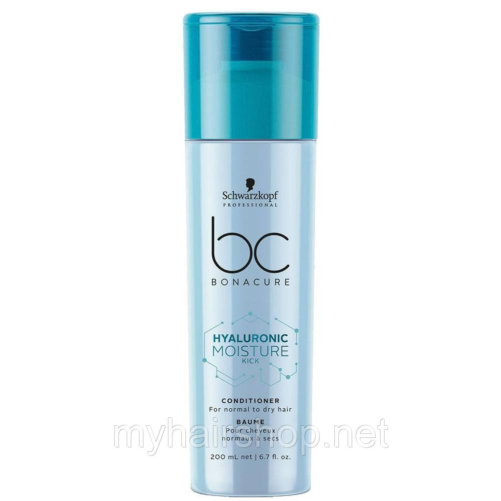 Увлажняющий кондиционер SCHWARZKOPF BC Hyaluronic Moisture Kick Conditioner 200 мл