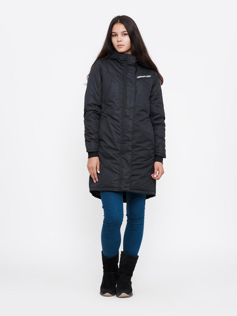 Зимова куртка Urban Planet PUFF W BLK парка жіноча чорна XS S M L XXL