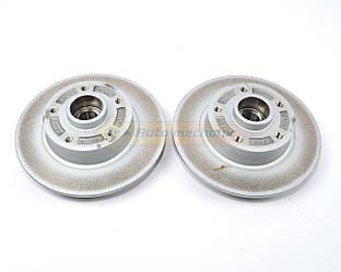 Тормозной диск задний с подшипником 260mm. (к-т 2шт) на Renault Megane III- Renault (Оригинал) - 432007556R