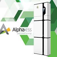 Солнечный инвертор гибридный ALPHAESS SMILE с аккумулятором 17,1 кВт*ч