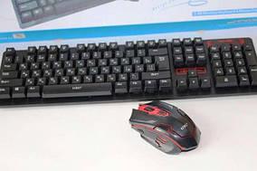 Клавиатура Беспроводная Keyboard HK-6500 + Мышка