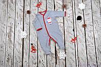 """Детский человечек """"Дед Мороз"""", размеры: 62,68,74,80"""