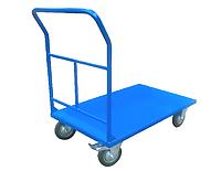 Візок зварна 2W, платформа 1250х500 мм, колеса Ф160 мм на підшипниках