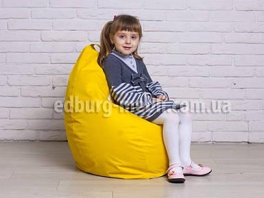 Кресло мешок груша детский   желтый Oksford