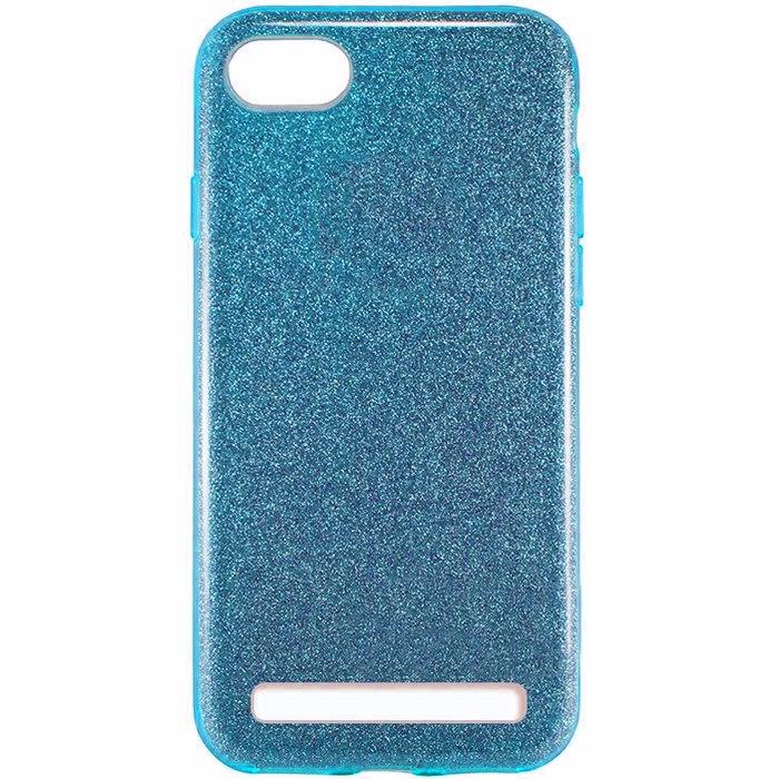 """Накладка Xiaomi Redmi 6a """"Shine"""" Blue"""