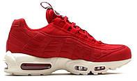 "Кроссовки Nike Air Max 95 TT ""Gym Red"" - ""Красные Белые""  (Копия ААА+)"