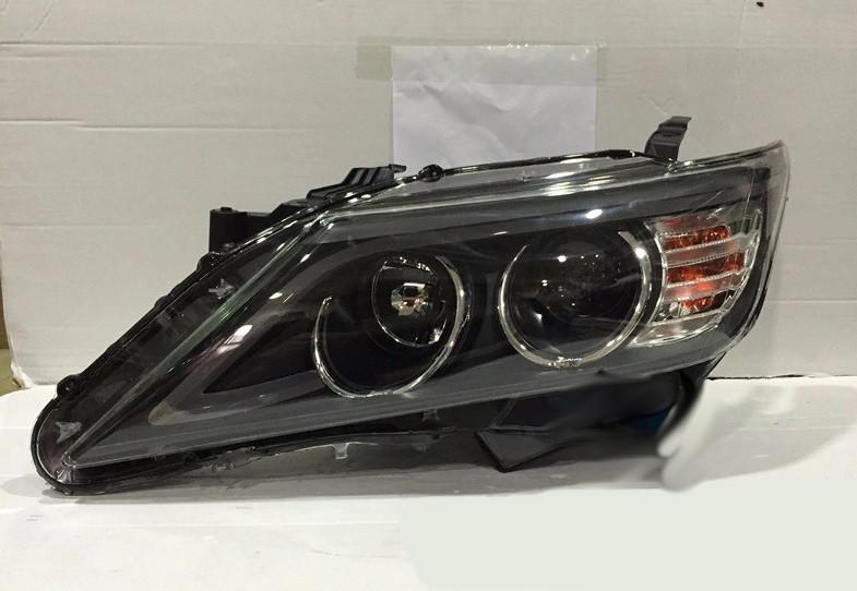 Передние фары Led тюнинг оптика Toyota Camry V50 под ксенон
