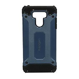 Чехол накладка для LG G6 H870 противоударный, SPIGEN, синий