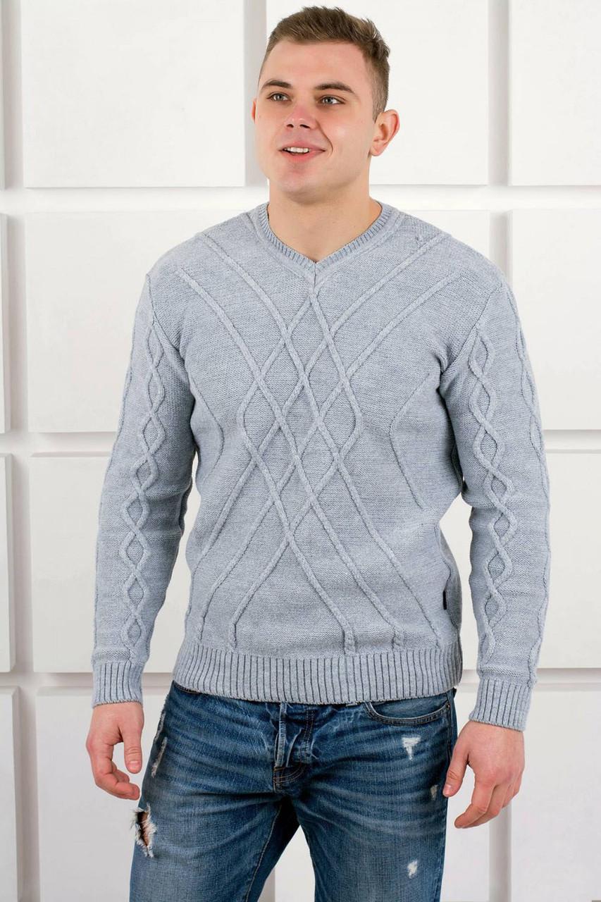 79ea747dcc7 Мужской свитер TAIKO (Василий) серый представлен в свитеры и ...