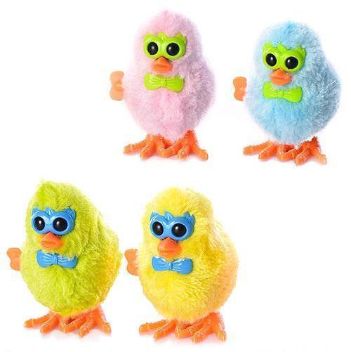 АКЦИЯ!!! Заводные животные 16831C птенцы,4 цвета, в пакете 9*7*5см 60808 Ч