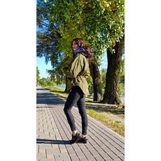Парка хаки - Размер XL - Код - 215-07, фото 3