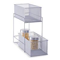 Кухонная корзина для еды, 2 уровня, ZELLER