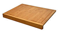 Бамбуковый стул, разделочная доска - 2 в 1