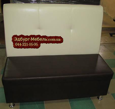 Диван для кафе обивка экокожа ( износостойкая для коммерции), фото 2