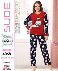 Женская  молодёжная тёплая пижама «Лисичка»