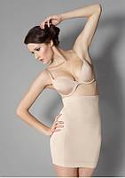 Моделирующая юбка с высокой талией (черный S, XL), фото 1