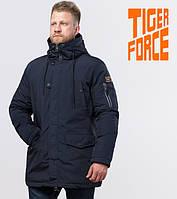 Зимняя мужская парка Tiger Force - 54120 темно-синяя
