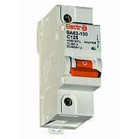 Автоматический выключатель ВА 63-100 10kA 80A 1P С Electro