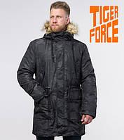 Зимняя мужская парка Tiger Force - 72315 черная