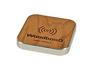 Беспроводная зарядка WoodbooD Standart Silver (WSS333), фото 1