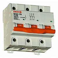 Автоматический выключатель ВА 63-100 10kA 80A 3P D Electro, фото 1