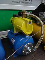 Насосная станция  для подачи воды в дом и полива Світязь,24 л.(Напор 45 м. Подача 50 л/мин.)