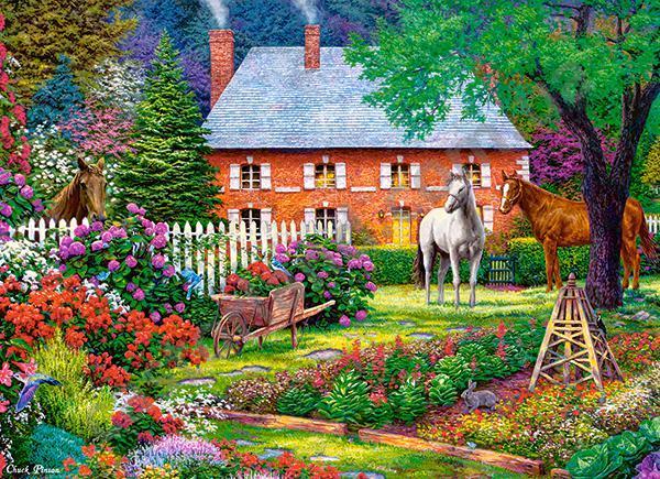 Пазлы Чудесный сад на 300 элементов