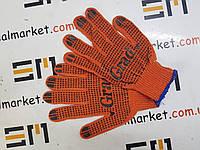 Перчатки трикотажные с ПВХ точкой 9442775 GRAD