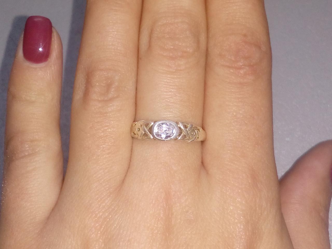 Кольцо из серебра 925 пробы, серебряное кольцо 16.5-17 размер