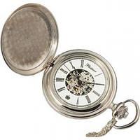 Карманные серебряные часы  ТМ Platinor