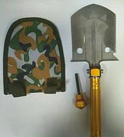 Многофункциональная саперная лопата с кресалом Gold