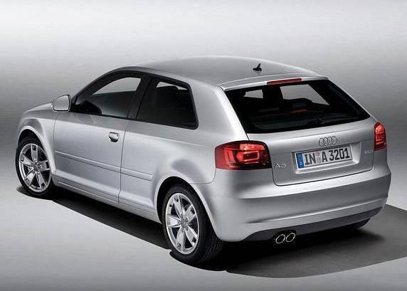 Заднее стекло Audi A3 (2003-2012) Хетчбек, фото 2
