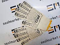 Перчатки трикотажные с ПВХ точкой 9442715