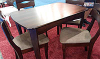 Обеденный стол для маленькой кухни Челси  Модуль Люкс, темный орех