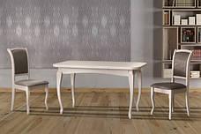 Стол обеденный белого цвета  Соренто Модуль Люкс, фото 2