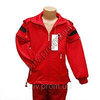 Спортивный костюм красного цвета,уни.Boulevard.p.XXXL.