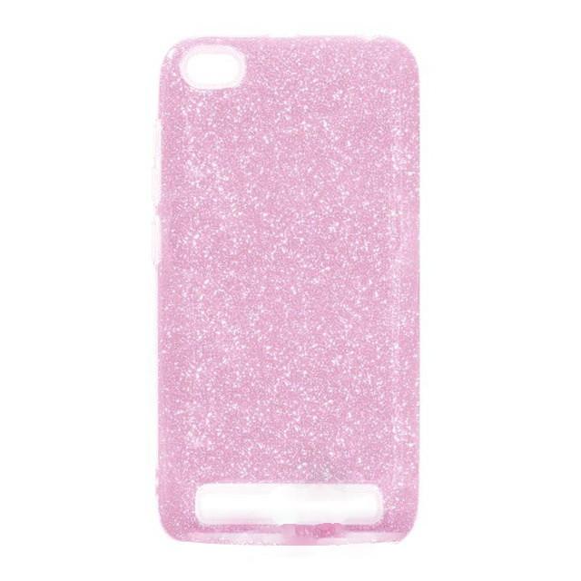 """Накладка Xiaomi Redmi 6a """"Shine"""" Pink"""