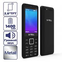 Мобильный Телефон S-TELL S5-05 Black Металлический корпус