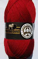 Madame Tricote Merino Gold № 034 темно-красный, фото 1