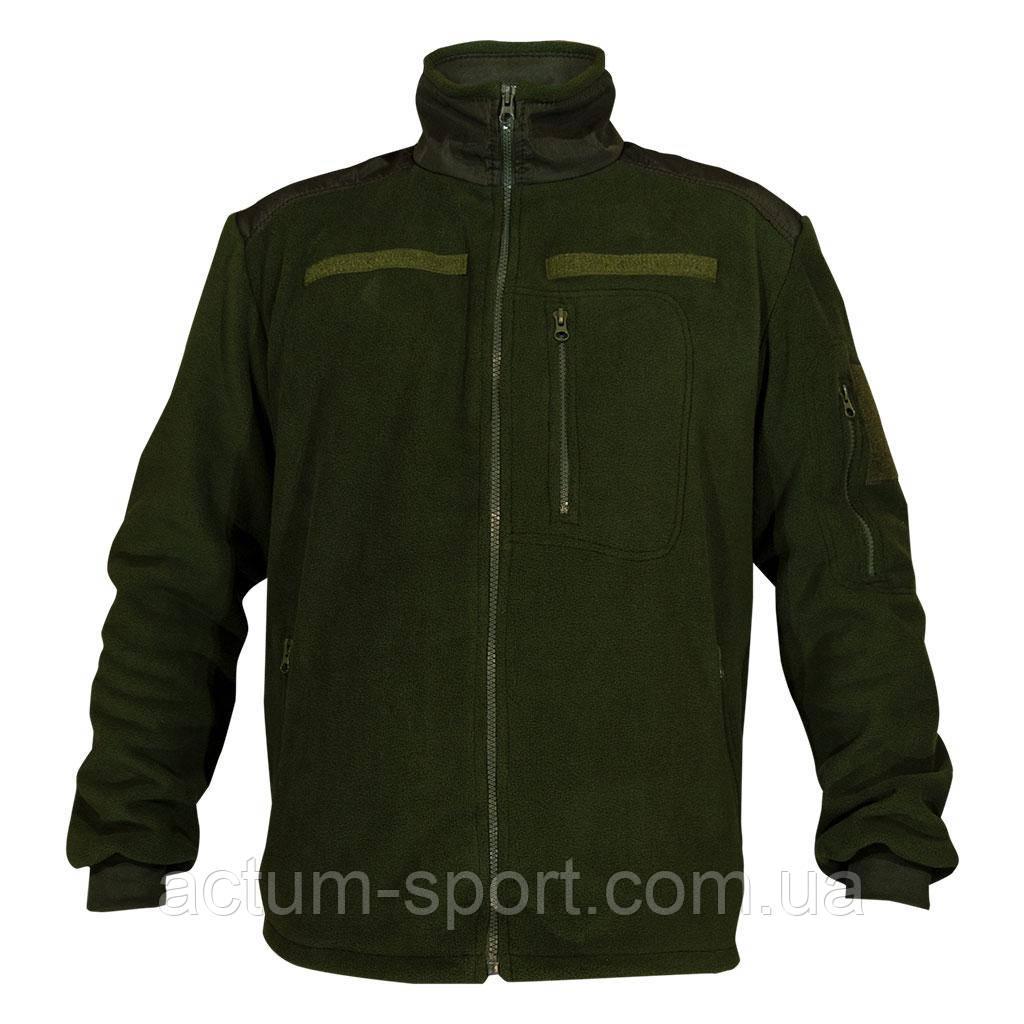 Мужская флисовая кофта Protection зеленая M