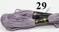 Мулине для вышивания (24шт/набор) 29 (418)