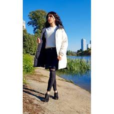 Куртка двухсторонняя чёрно-бежевая - Размер L - Код  - 221-08, фото 2