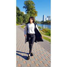 Куртка двухсторонняя чёрно-бежевая - Размер L - Код  - 221-08, фото 3