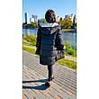 Куртка двухсторонняя чёрно-бежевая - Размер L - Код  - 221-08, фото 4