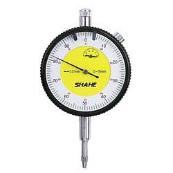 Гарантія 6 міс.! Індикатор годинникового типу ИЧ Shahe-10 0-10/0.01 мм (5301-10) без вушка (mdr_2417)