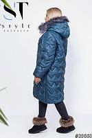 Зимові пальто жіноче дуже тепле з 50 по 60 розмір, фото 4